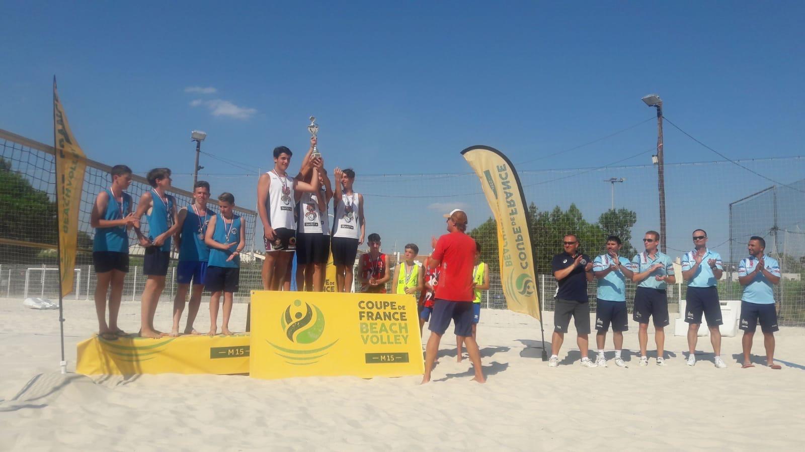 M15 coupe de france de beach volley c n m charenton volley ball - Coupe de france de volley ...